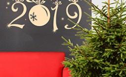 Чем украсить дом или квартиру к встрече Нового года 2019. Рекомендации дизайнеров