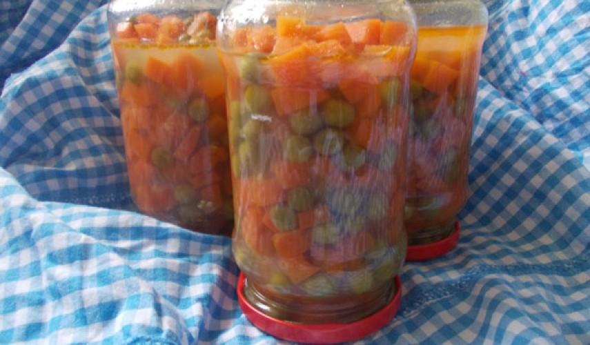Заготовки из моркови