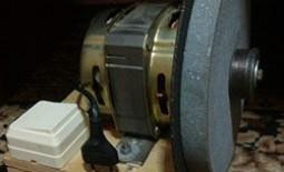 Точильное устройство своими руками: как собрать наждак из двигателя «стиралки»