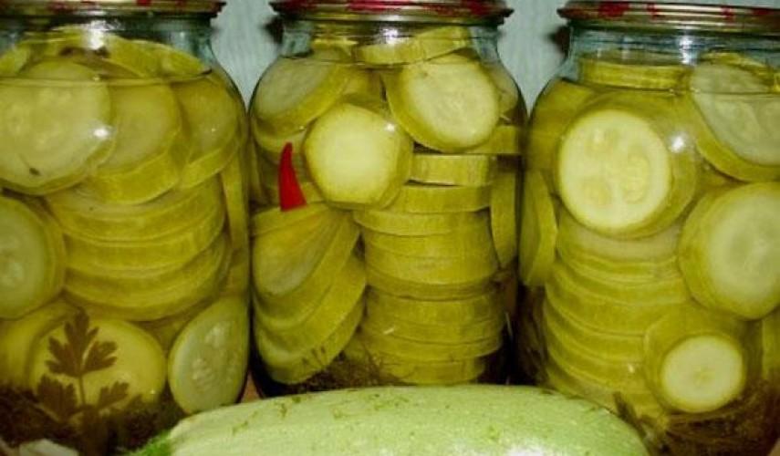 заготовки из кабачков на зиму