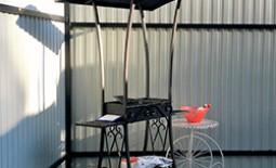 Как самостоятельно сделать мангал с крышей: пошаговая инструкция и схемы