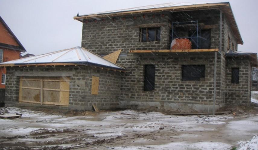 Как построить дом из арболита