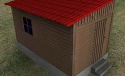 Строим своими руками сарай с односкатной крышей на своей даче