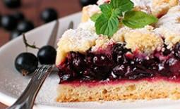Пироги со смородиной: варианты на любой вкус и цвет