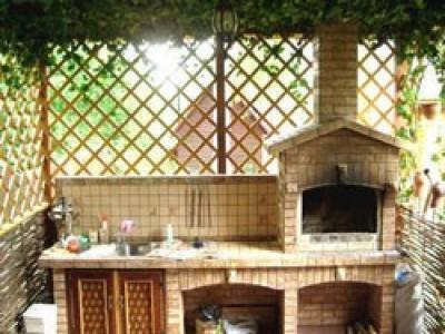 Садовая беседка или летняя кухня с мангалом, барбекю, печкой: варианты строительства своими руками