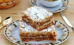 Необычные рецепты насыпных пирогов с яблоками