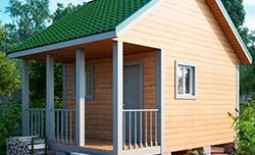 Оптимальные габариты бани на даче для семьи из 2-3 человек