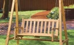 Как сделать садовые качели своими руками: полезные советы, пошаговая инструкция и тонкости работы