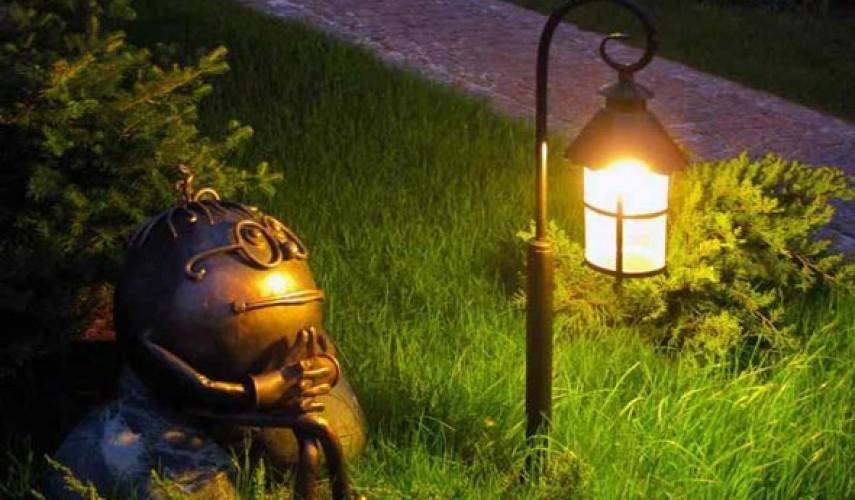 Фонари и лампы для сада