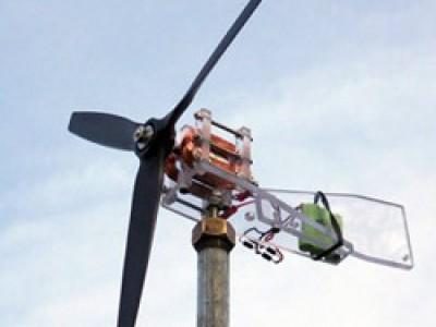Тихоходный ветрогенератор своими руками из автомобильного генератора