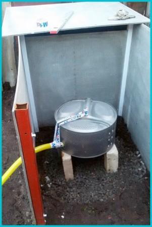 из чего построить туалет