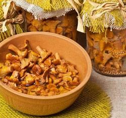 заготовки из лисичек на зиму