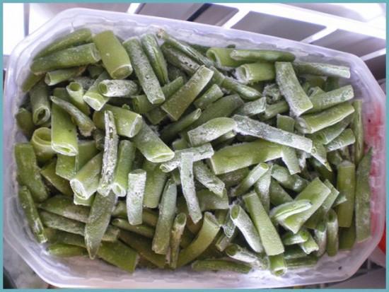 правила хранения спаржевой фасоли в холодильнике