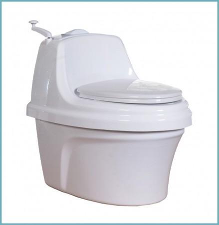 какой унитаз выбрать для торфяного туалета