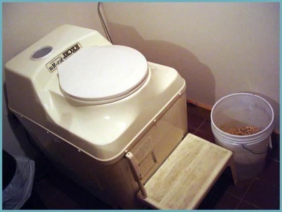 преимущества торфяного туалета