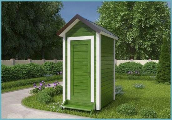 где строить туалет