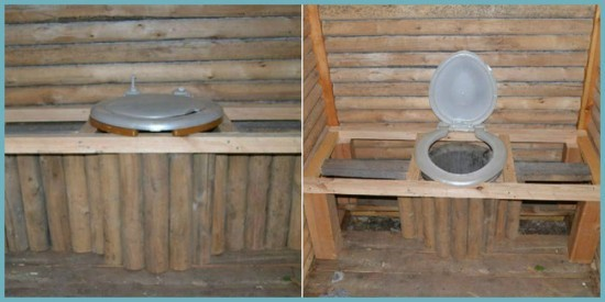как правильно соорудить унитаз для дачного туалета