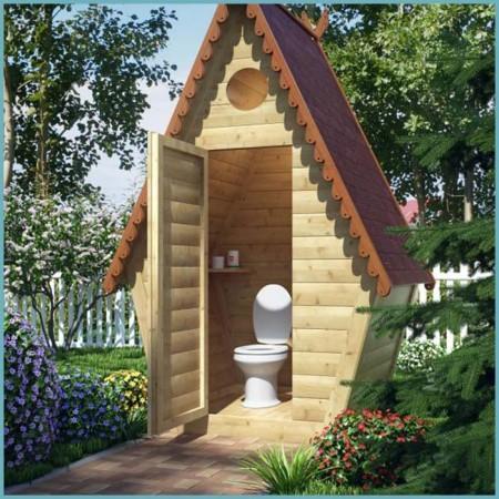 как установить унитаз в дачном туалете