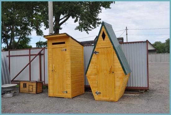 проектирование садового туалета