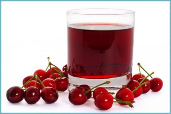польза сока из войлочной вишни