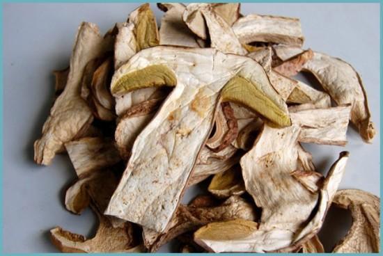 как посушить грибы правильно