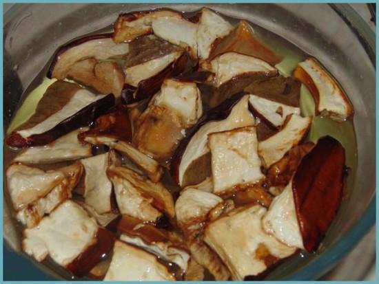 рецепт соленых грибов на зиму
