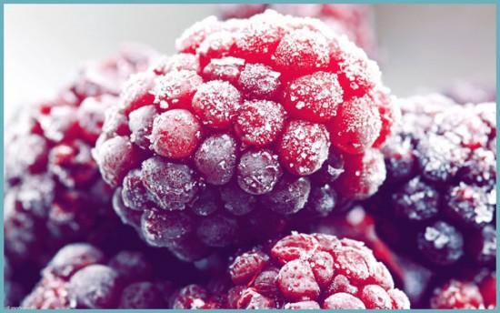 как заморозить малину на зиму