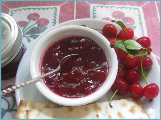 как сделать джем из вишни
