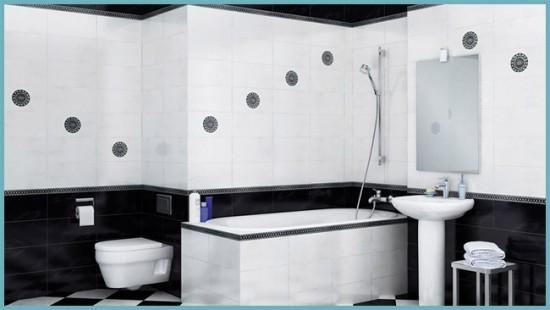 стили ванной комнаты
