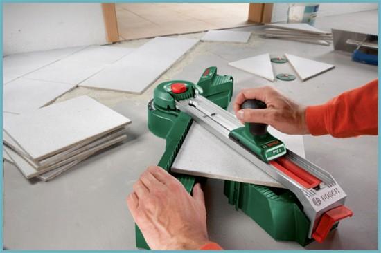 как нарезать плитку по размеру