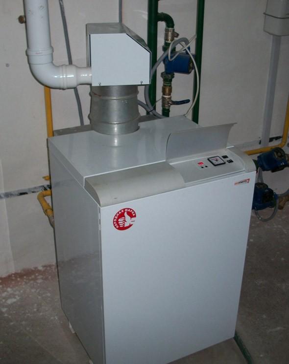 газовый напольный котел для дома