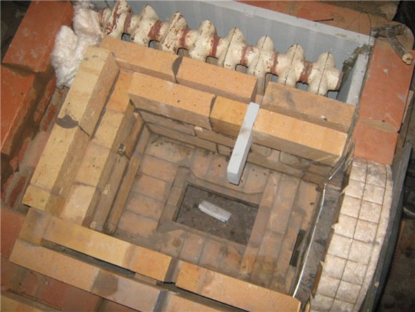 печное отопление в доме