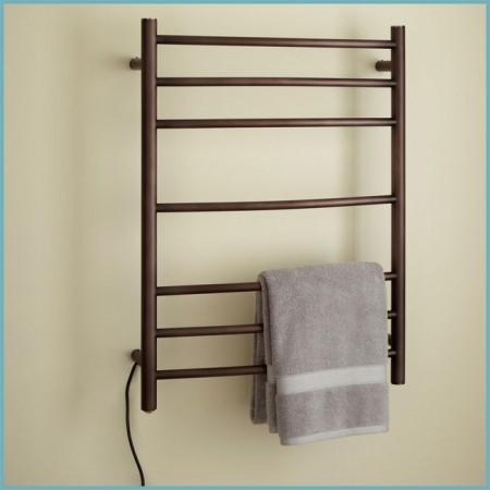 монтаж полотенцесушителя электрического
