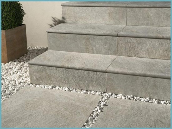 преимущества лестницы из керамогранита