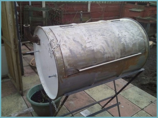 дымоход для коптильни
