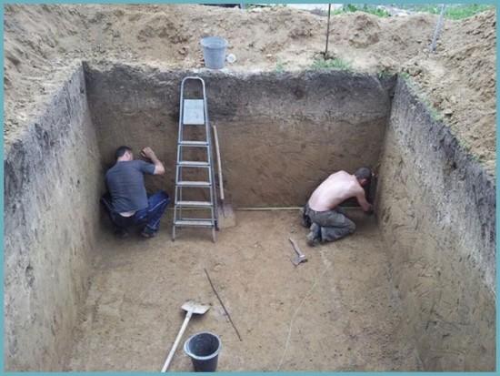 размеры погреба