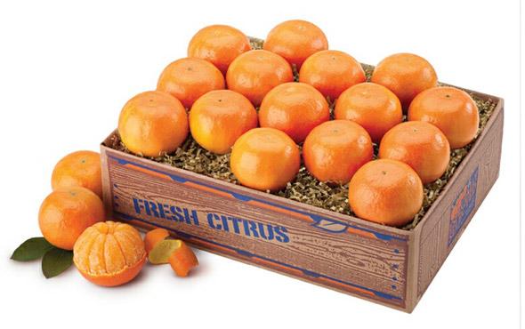 как хранить мандарины