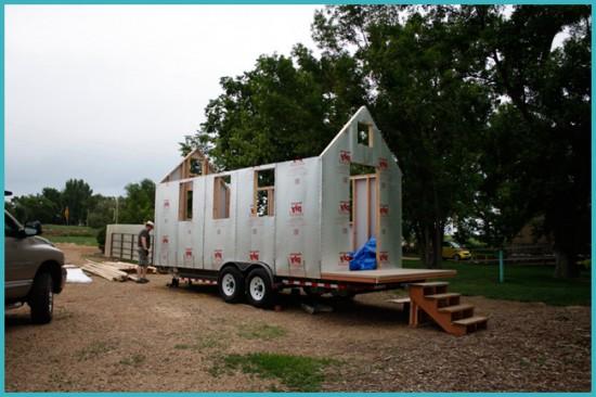строительство дома на колесах