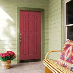 Как утеплить входные двери