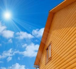 Отделка сайдингом деревянного дома