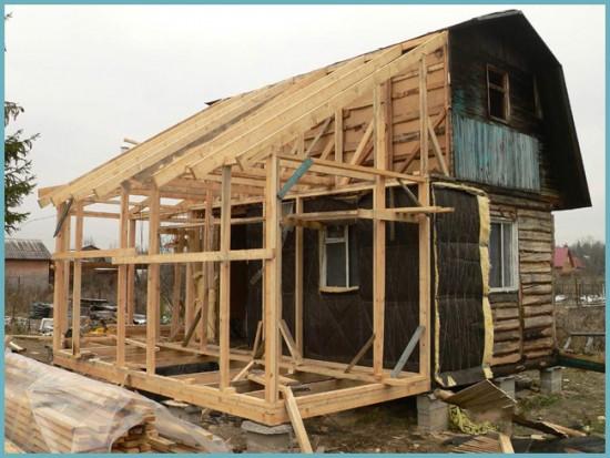 как сделать крышу для веранды