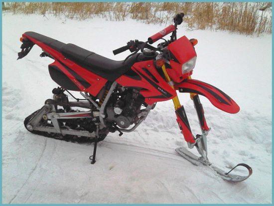 как сделать снегоход