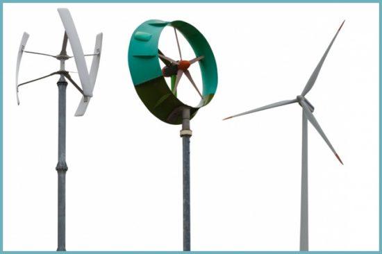 виды ветрогенераторов