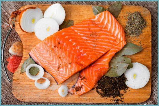 приготовление красной рыбы