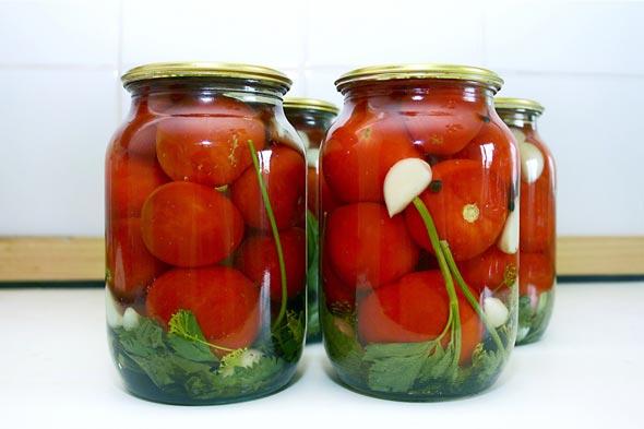 Заготовка помидоров