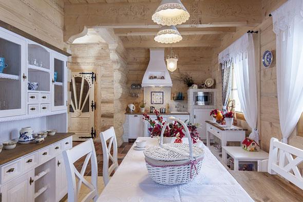 Дачный дом в стиле прованс