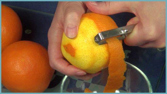 компот из апельсина