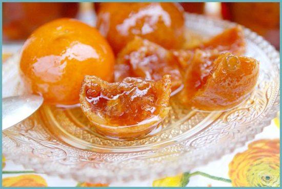 виды варений из мандаринов
