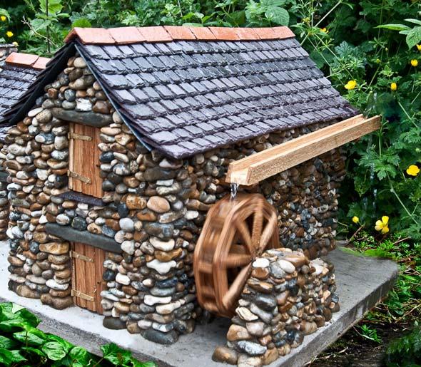 обладают длинным, декоративные домики для сада фото новый