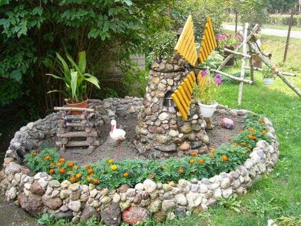Мельница для сада